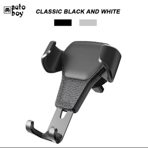Image 5 - Car Phone Holder Car Air Vent Mount Stand No Magnetic Mobile Phone Holder Universal Gravity Smartphone Cell Support
