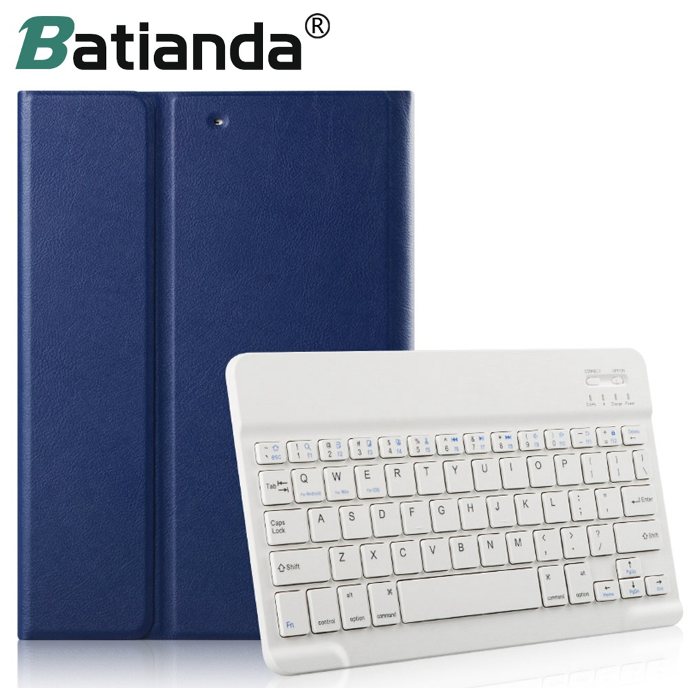 For iPad Mini 4 Keyboard Case Ultra Slim Shell Lightweight Cover with Magnetically Detachable Wireless Bluetooth Keyboard Mini 4 for ipad mini 4 backlit wireless 4 0 bluetooth keyboard 7 colors backlight ultra slim aluminum abs material a1538 a1550