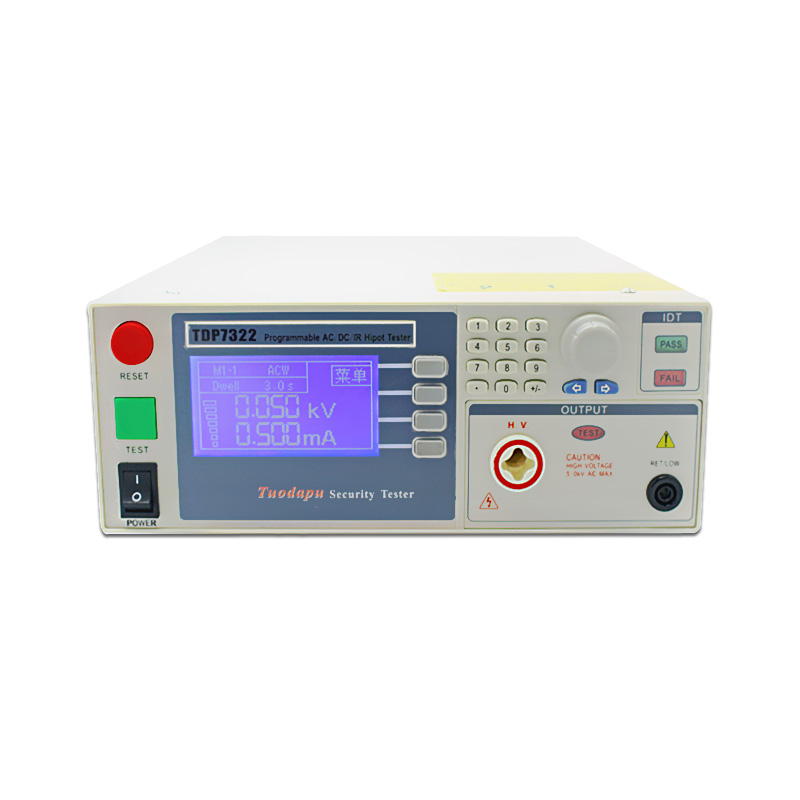 TDP7322 AC and DC withstand voltage insulation resistance tester/Hipot Tester(ACW/DCW/IR test)