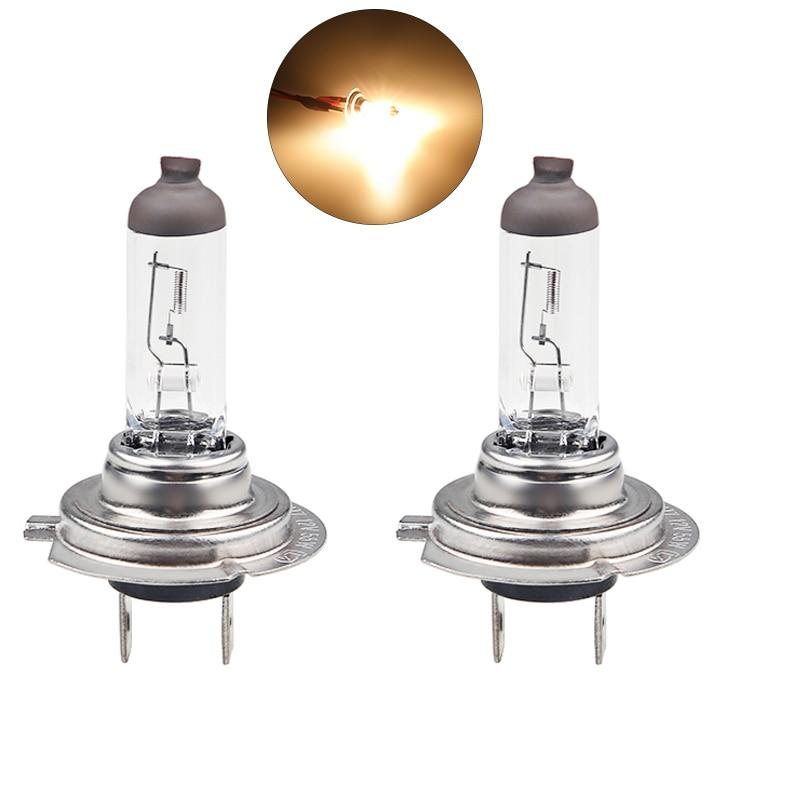 Urbanroad 2PCS H7 12V 55W 4300k Halogen Car Light Bulb Lamp Cars Light Bulbs Clear Light Fog Lamp Car Styling Parking цена