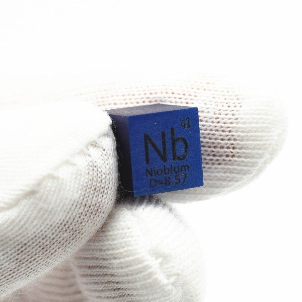 Di metallo Blu Niobio Cubo per Elemento Collezione Scienza Esperimento 99.95% 3N5 10x10x10mm Colorato Nb Cubo 4 di ricerca BrillanteDi metallo Blu Niobio Cubo per Elemento Collezione Scienza Esperimento 99.95% 3N5 10x10x10mm Colorato Nb Cubo 4 di ricerca Brillante