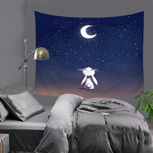New Children room decorative Cartoon wall hanging tapestry home decoration 130x150cm bedspread table cloth 51x60