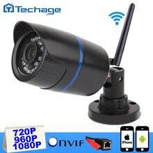 Techage 1080 P IP Inalámbrica Cámara Impermeable HD de 1.0MP P2P ONVIF WIFI Mini Cam IR Visión Nignt Inicio de Seguridad CCTV vigilancia