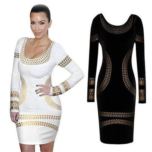 Long Sleeve Club Dresses