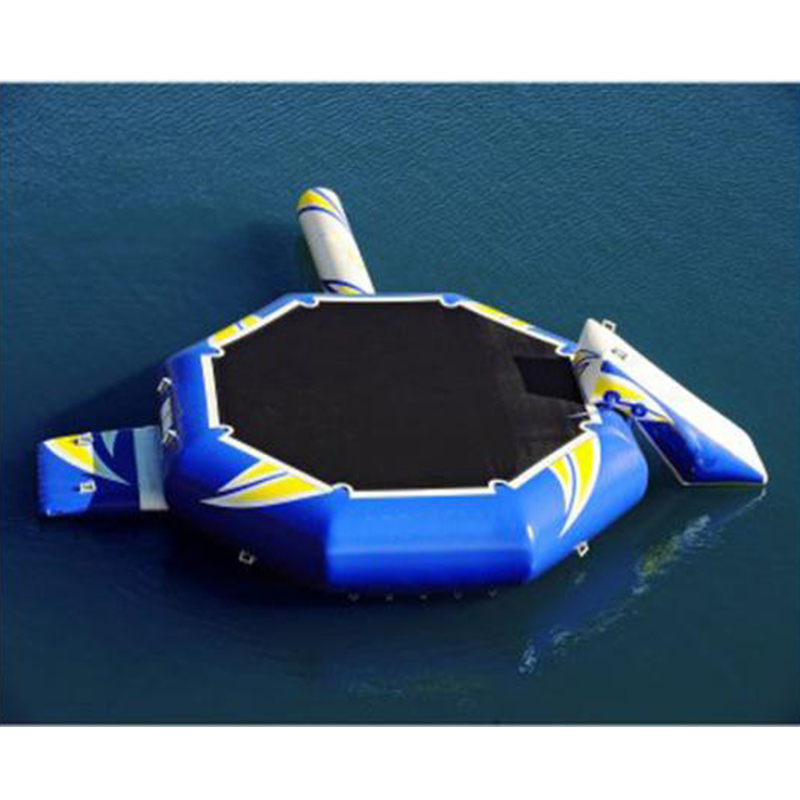 High Quality Trampolina Water Park Inflatable Water Trampoline Combo