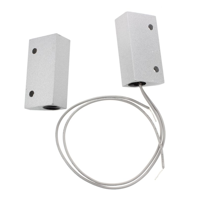 Wholesale Metal Store Roller Shutter Door Contact Alarm Magnetic Reed Switch wireless metal roller shutter door magnetic contact switch alarm door sensor for home alarm system