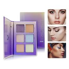 Highlighter Face Brighten Concealer Glitter Palette Shimmer Bronzer Highlighter Base Makeup Cosmetics недорого