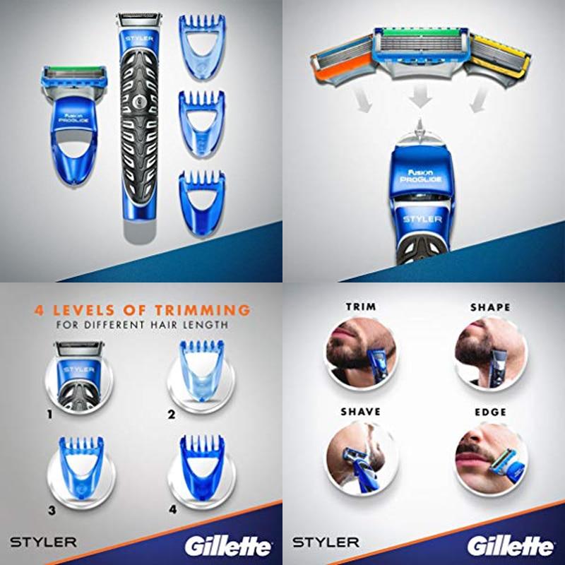barba groomer laminas substituiveis para homem 04