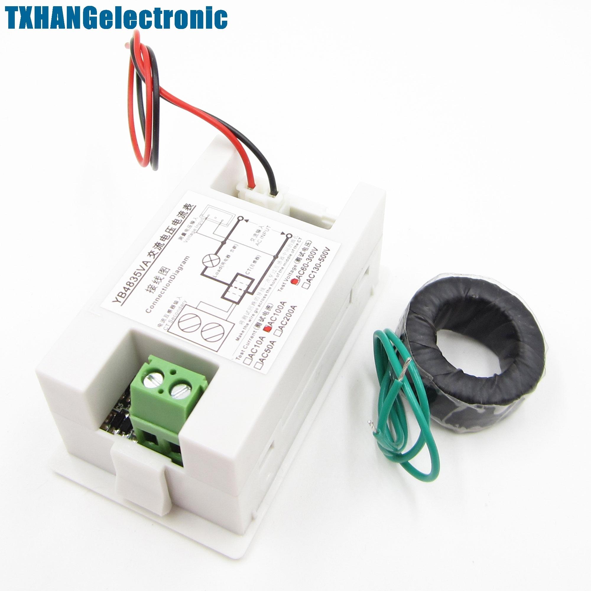 Njk 5002c Hall Effect Sensor Proximity Switch Npn 3 Wires Normally Volt Meter Wiring Diagram On For Digital Ammeter Voltmeter Lcd Panel Amp Ac 100a 300v 110v 220v White