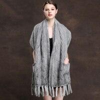 ZDFURS * вязаные шарфы норковый меховой шарф норковый натуральный вязаный норковый меховой платок на шею
