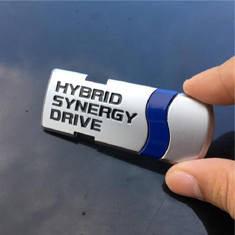 Premium Hybrid Sticker Auto Car 3D Brand Logo ABS Badge Universal Emblem Decal