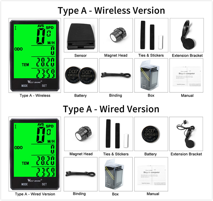"Image 5 - WEST BIKING Touch Screen Cycling Computer Super Waterproof 2.8""Large Screen Bicycle Speedometer Multiduty Upgraded Bike Computercycling computerbike computerbicycle speedometer -"