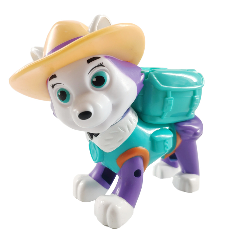New Paw Patrol Everest Dog Tracker Puppies Can Be Deformed Patrol Patrulla Canina PVC Doll Toys Action Figure Model Toys