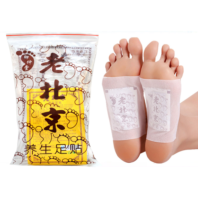 100pcs=(50pcs Patches+50pcs Adhesives)  300/600 Detox Foot Patch Toxins Feet Slimming Feet Cleansing HerbalAdhesive Help Sleep