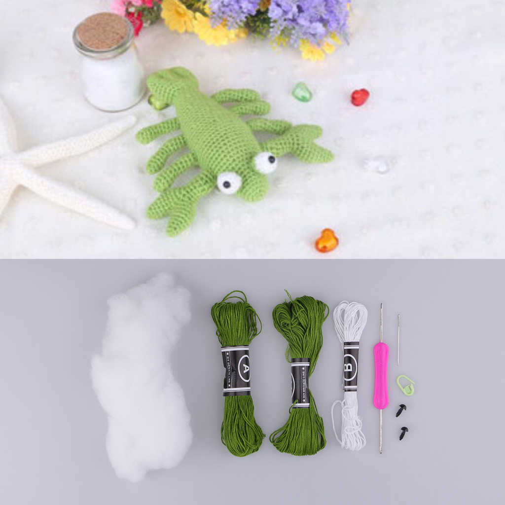 CROCHET WORK AMIGURUMI TOY KIT CAK09 | Crocheted Amigurumi Toys | A... | 1024x1024
