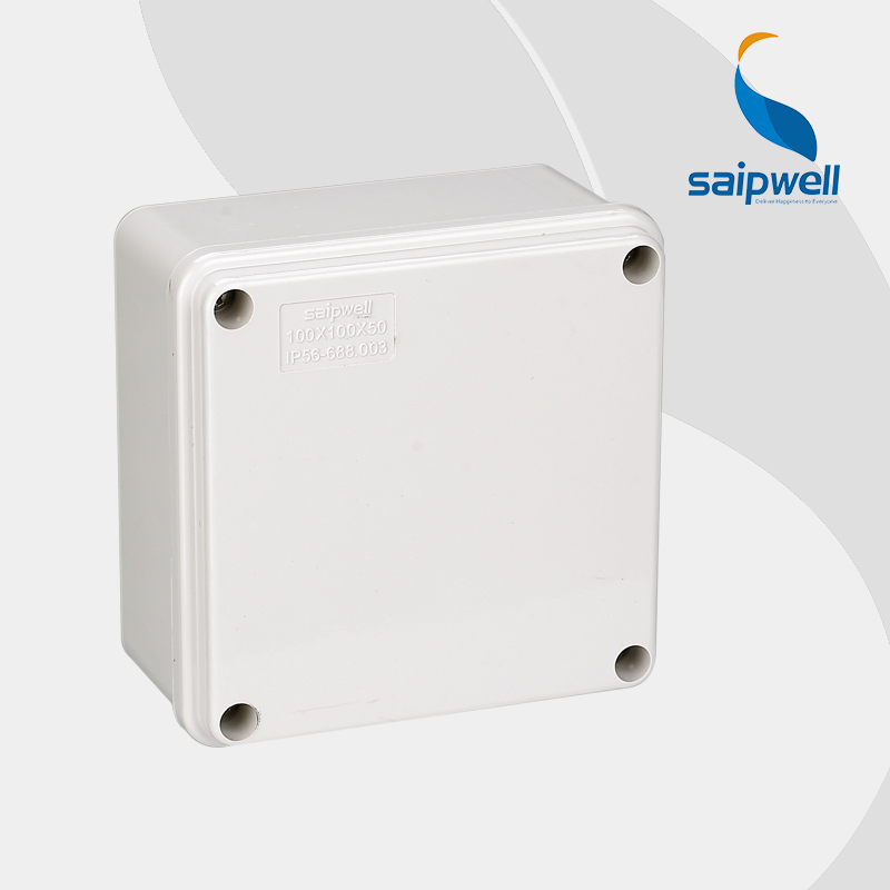 Saipwell Hot sale IP66 IP65 plastic waterproof electrical junction boxes 100 100 50mm High quality DS