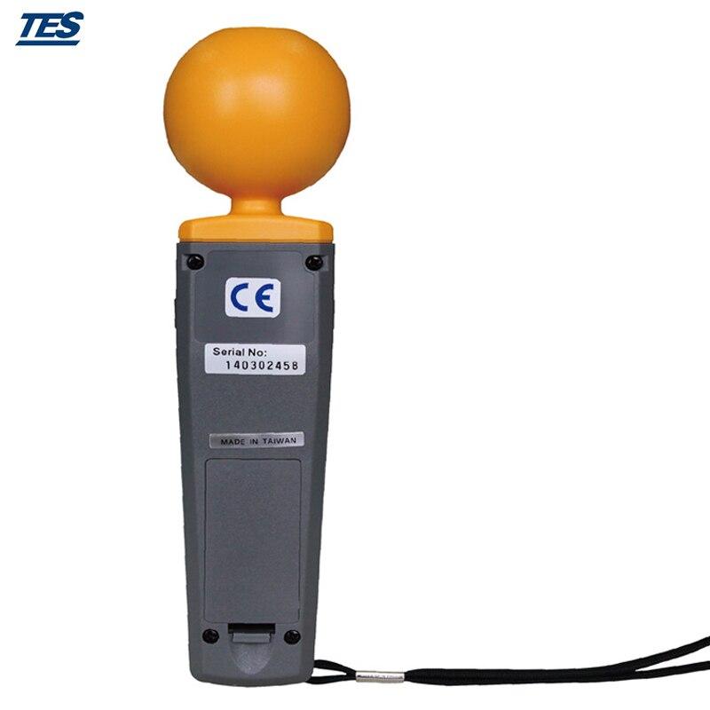 TES-92 Triaksiaalne Andmeloger Elektromagnetilise kiirguse - Mõõtevahendid - Foto 4