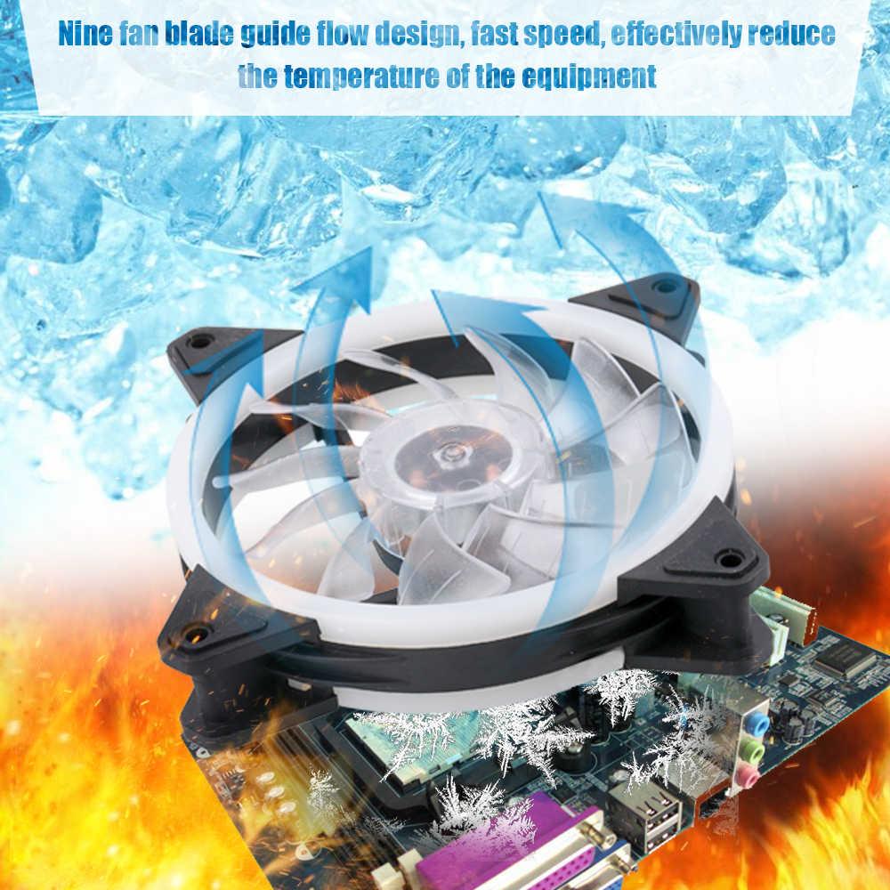 Процессор кулер вентилятор охлаждения для ПК регулируемый RGB светодиодный осветительный Вентилятор Кулер для Процессор компьютерный корпус с пультом дистанционного управления Управление 3/6/8 шт.