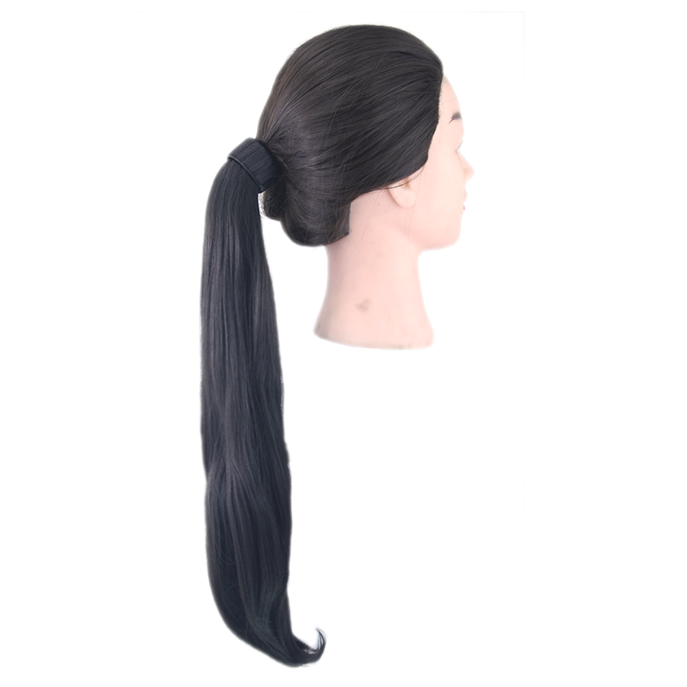 Synthetic Ponytails Hair Extensions & Wigs Soowee 8 Colors Wavy High Temperature Fiber Hair Ponytail Synthetic Hair Pony Tail Pink Red Clip In Hair Extension Hairpiece