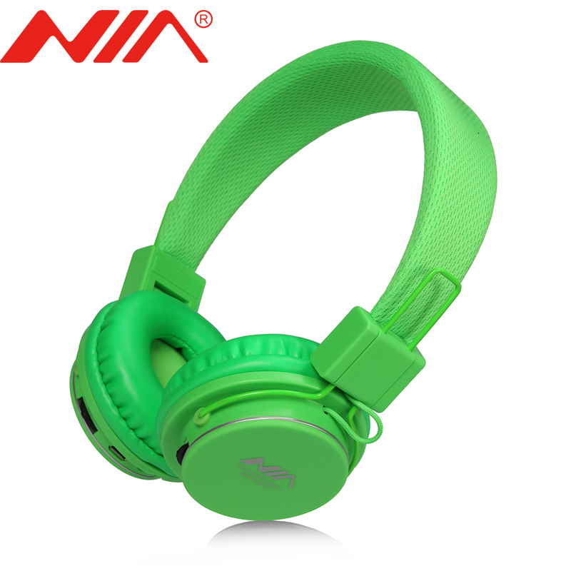 Original NIA 8820 Headphone EQ Foldable Headphone High Quality Support SD Card FM Radio economic set original nia 8809s 8 gb micro sd card a set wireless headphone sport for tv with fm