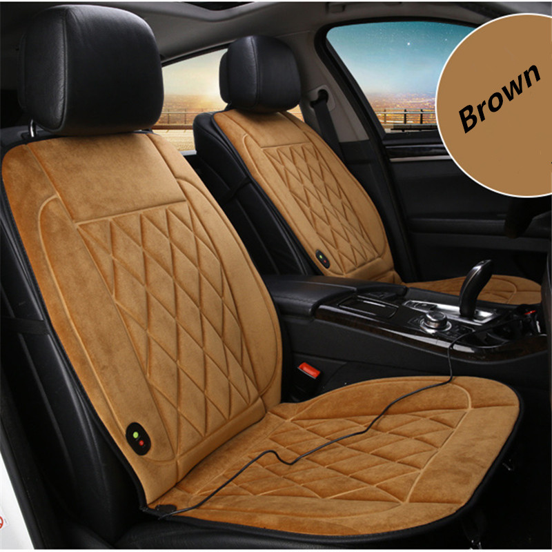 Image 3 - 1 pieces 12V Heated Car Seat Cushion  Innovative Technology New Winter Car Heating Cushion Even More Comfortable Heating-in Automobiles Seat Covers from Automobiles & Motorcycles