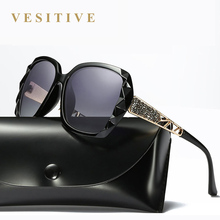 Brand Design Polarized Luxury sunglasses women Ladies Elegant Big Sun Glasses Female Prismatic UV Eyewear oculos de sol feminino