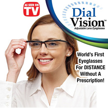 Universal Glasses Dial Adjustable Lens for Men Women