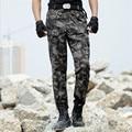 Carga tático Militar 2016 Dos Homens Calças de Camuflagem Moda Estilo Casual Calças Pant calças de trabalho & Sweatpants Dos Homens 4XL para homens