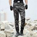 Estilo táctico de carga Pantalones de Camuflaje Militar 2016 de Los Hombres de Moda Casual Pantalones Pantalón Hombres 4XL pantalones y pantalones de Chándal para los hombres de trabajo