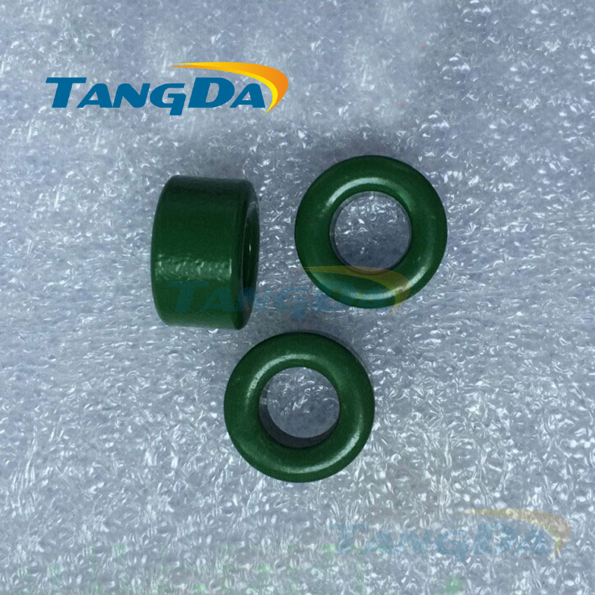 Tangda insulated green ferrite core bead 38*25*16 mm magnetic ring magnetic inductance interference anti-interference filter tangda ferrite cores emi bead core 58 40 18 58 40 18 mm ring coil emi toroidal core anti interference filter t core type a
