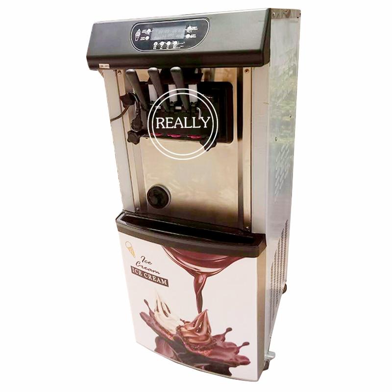Commercial 22L/30L Vertical 3 Flavors Italian Taylor Soft Gelato Ice Cream Machine
