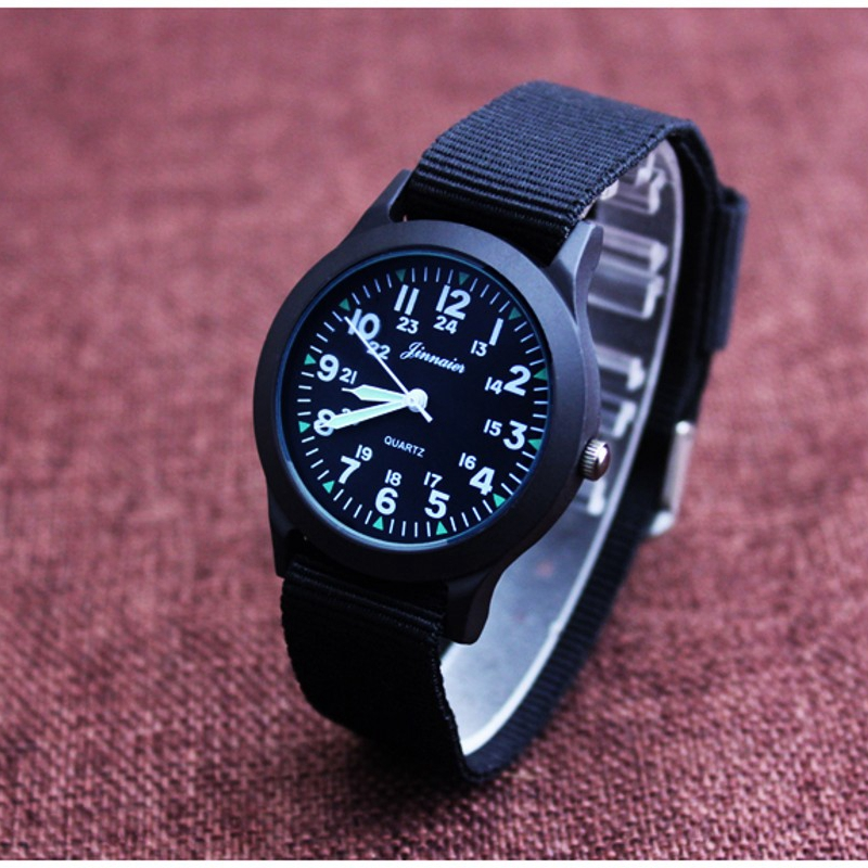 New Famous Brand Men Quartz Watch Army Soldier Military Canvas Strap Analog Watches Sports Clock Wristwatches Casual Relogio
