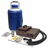 ЖК охлаждающая машина для разделения FS06 2 в 1 упак. собран в насос с 10L жидкого азота бак 220 В 300 Вт для телефона ЖК инструмент для ремонта