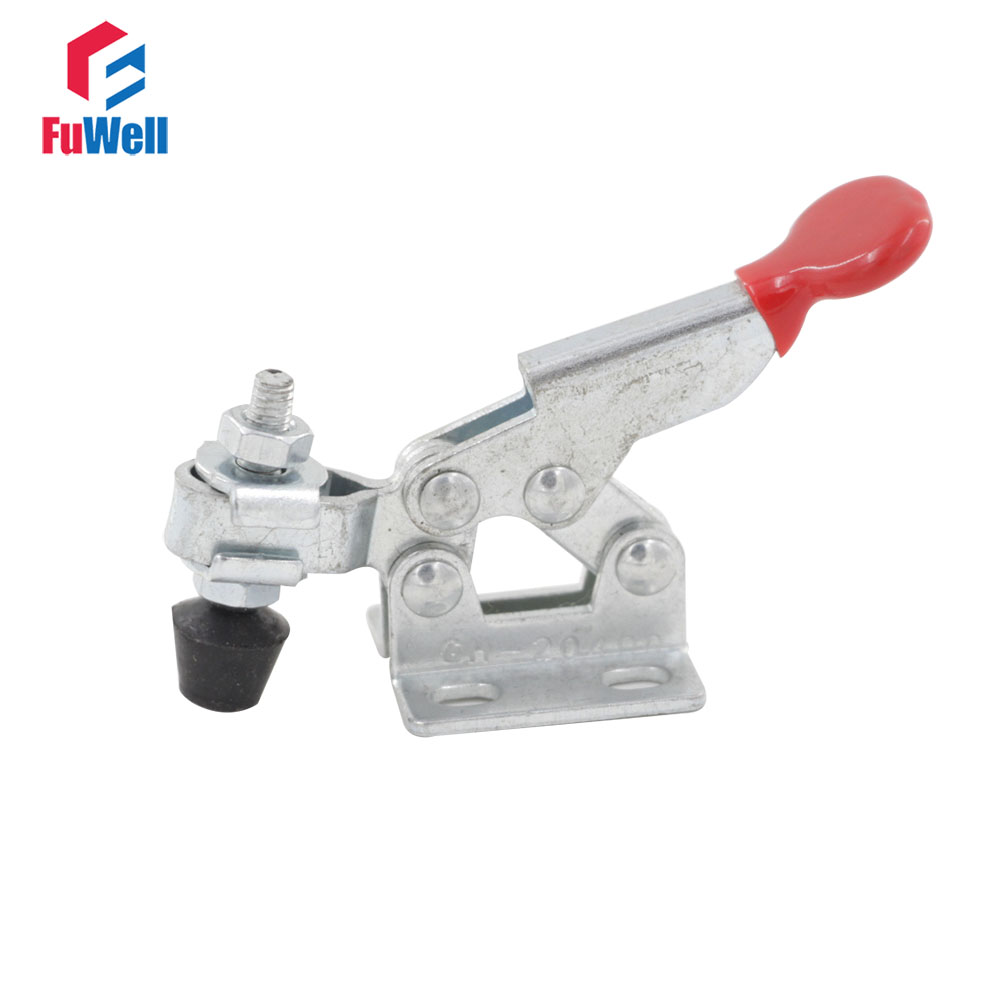 GH-20400 Hand Tool Toggle Clamp 20Kg 44Lbs Holding Capacity Metal Horizontal Toggle Fixture Clamps