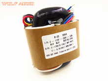 YS 220 В/115 В 50 Вт (50VA) R-core трансформатор для трубки Усилители домашние предусилитель/ЦАП/наушники 170 В + 6.3 В
