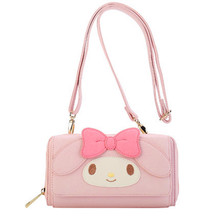 cartoon My Melody Wallet Women Fashion Leather Coin Purse Card purse Bag Kids Messenger for Children gifts