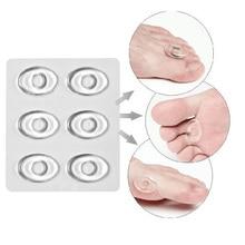 18 шт./3 упаковки гелевых натоптышей мозолей, кольца, подушечки, силиконовые накладки на пятку, накладки на мозоли, обувные вставки, облегчающие боль в ногах, подушка для ухода за ногами