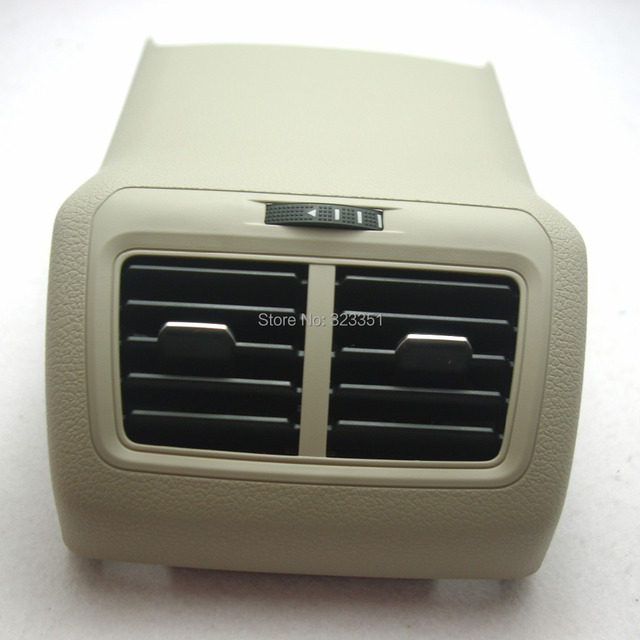 OEM Beige Rear Air Conditioning Outlet 5GG 864 298A ZA2 5GG864298A ZA2 For VW Golf MK7 2014 5GG 864 298 A ZA2