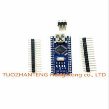 Freeshipping ! 20pcs/lot Nano 3.0 controller compatible for arduino nano CH340 USB driver NO CABLE