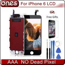 "Mejor calidad aaa para apple iphone 6 pantalla ecran reemplazo de la pantalla táctil iphone6 4.7 ""pantalla lcd digitalizador asamblea"