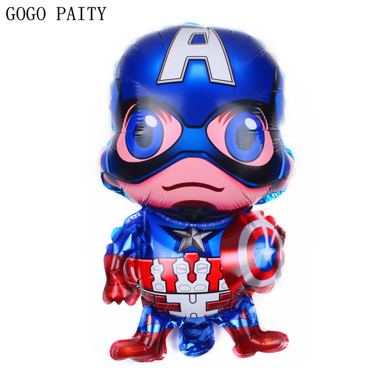 GOGO PAITY  New Mini Cartoon Characters Aluminum Balloon Ball Children Holiday Party Layout Decoration Balloon Wholesale