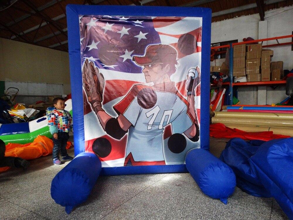Jeu de sport gonflable de baseball gonflable pour aire de jeux intérieure