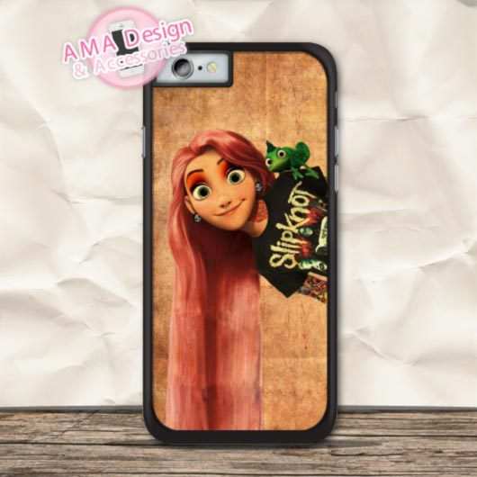 Tattooed Punk Tangled Cover Phone Case For iPhone X 8 7 6 6s Plus 5 5s SE 5c 4 4s For iPod Touch