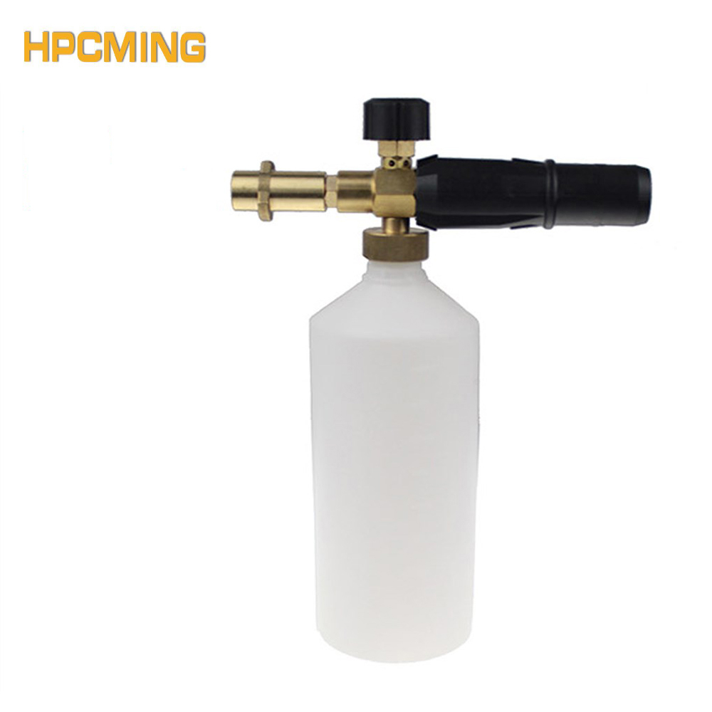 Gs Snow Foam Lance With Brass Adapter For K Series Machine Car Wash Water Washer Foam