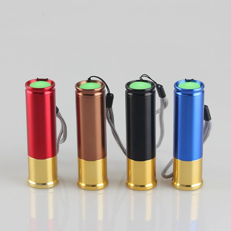 1X Portable Mini COB LED Flashlight With Rope Handy Light Lamp Carabiner Camping Hunting Flashlights Torch