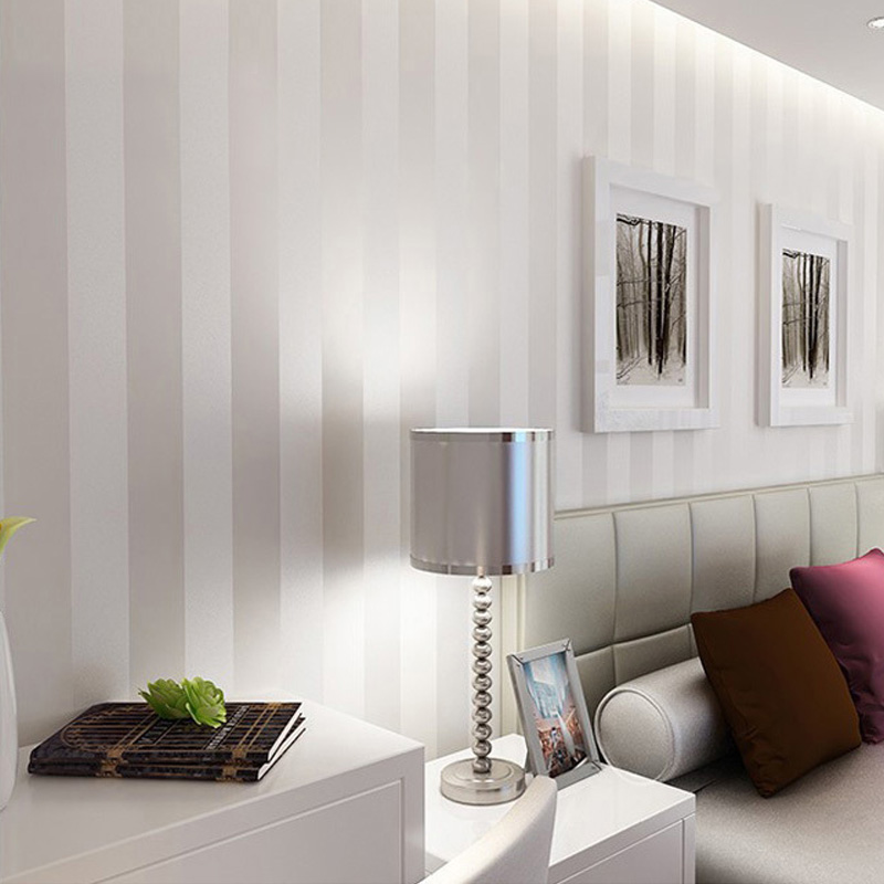 Modern Vertical Striped Wallpaper For Living Room Study Backdrop Wall Covering Simple Home Decor Papers Papel De Parede 3D In Wallpapers From