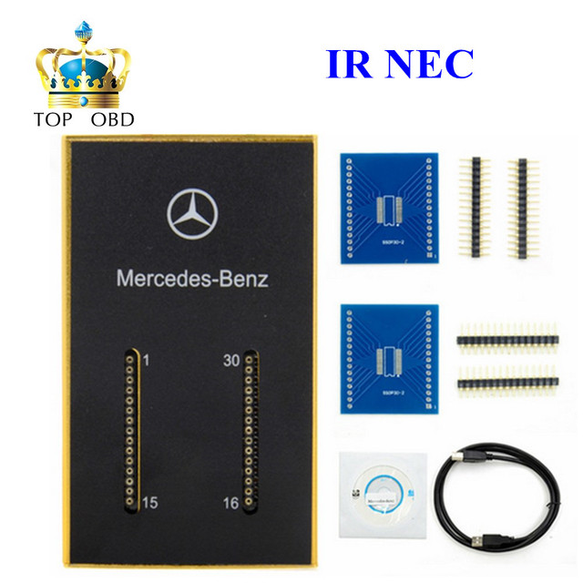 A+ Quality MB IR NEC Key Programmer for Mer cedes Benz New BENZ IR NEC Key Programmer MB IR key prog Auto NEC Key Programmer