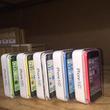 "Factory Unlocked Original iPhone 5C iOS Dual Core 4.0 ""TouchScreen 8.0MP Camera With WIFI GPS Mobile Phone(China)"