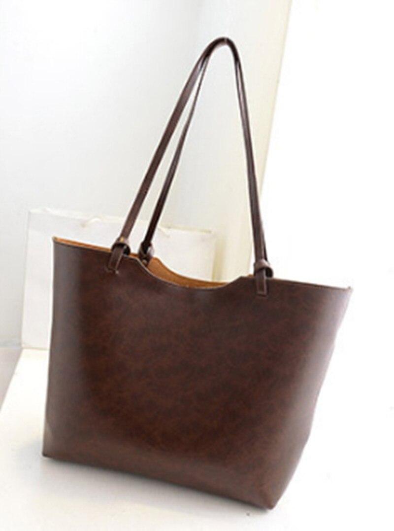 Brand design women shoulder bag Large capacity bucket Handbags Quality genuine leather Womens Totes Shopping Bag bolsa feminin