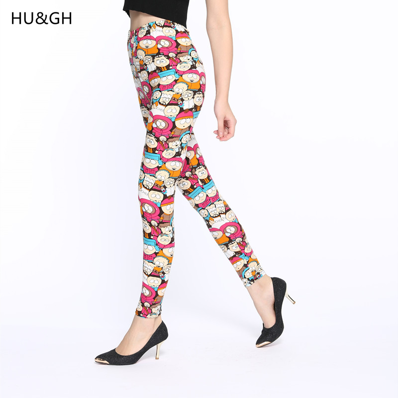 ARDLTME 2018 Cartoon Printing   Legging   Fashion Slim Fitness Women   leggings   High Elastic Cotton Multiple Colors style Causal Pants